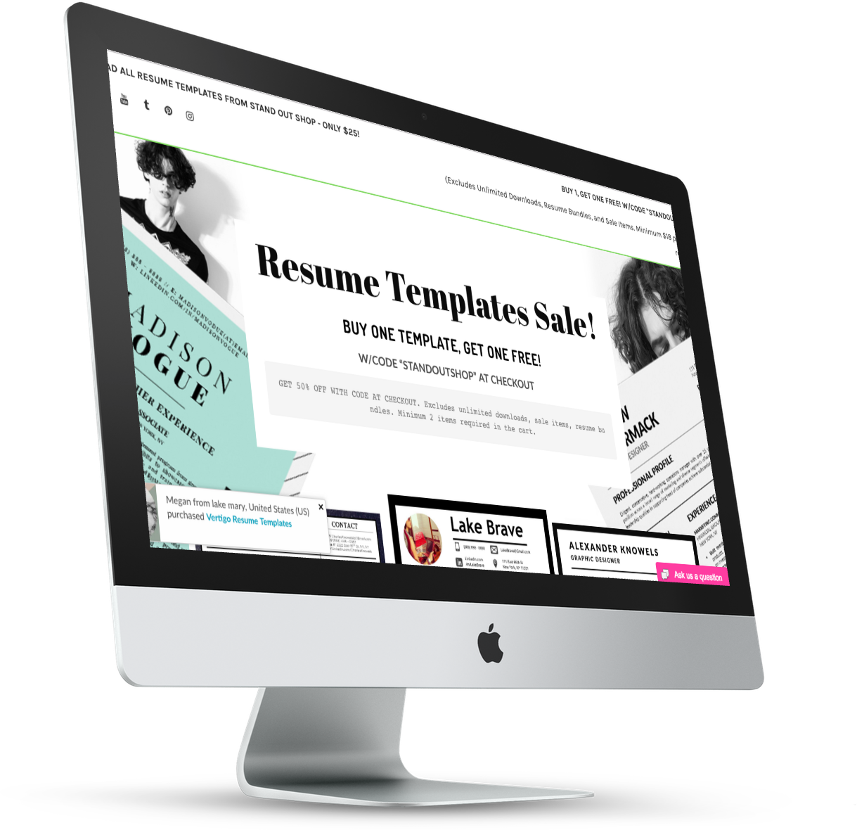 1-STAND OUT SHOP EYEBRANDIT WEB DESIGN