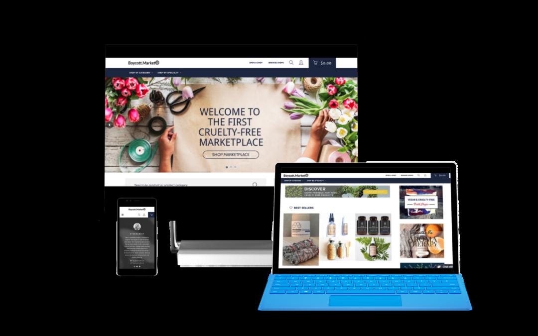 Online Marketplace Web Design & Development for the Boycott Market