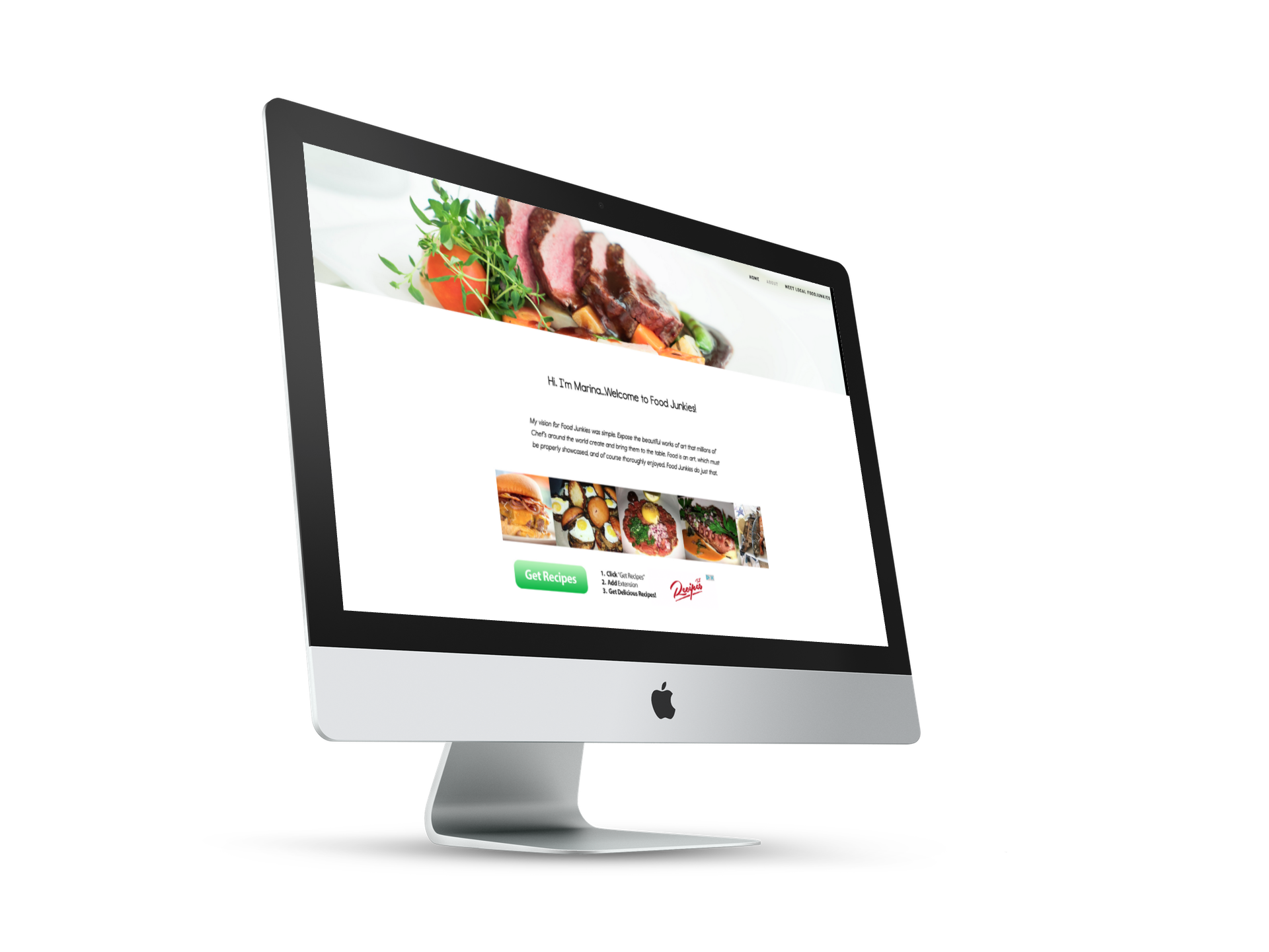 EYEBRANDIT PORTFOLIO WEB DESIGN - FOOD JUNKIES NYC 4