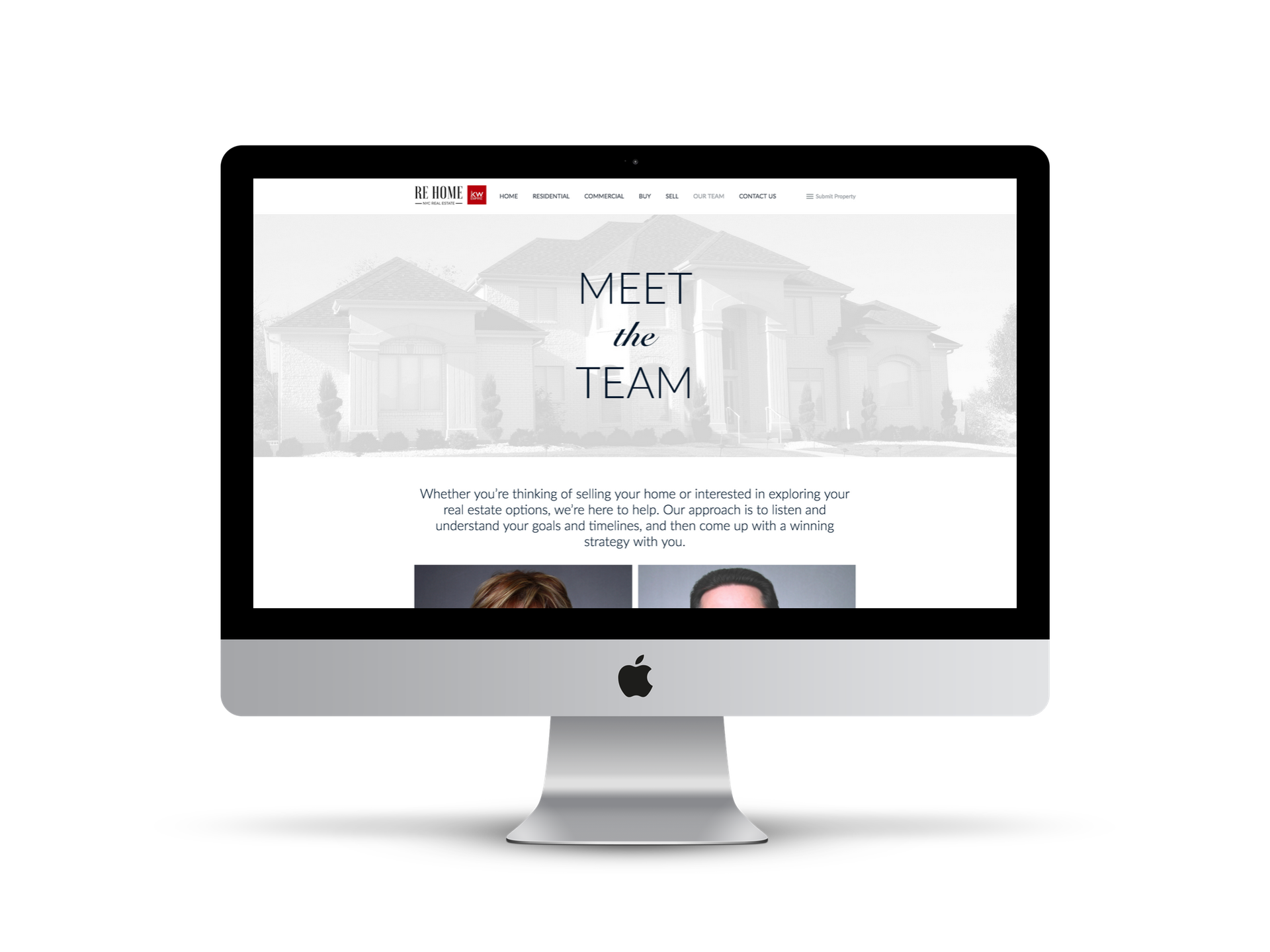 EYEBRANDIT PORTFOLIO WEB DESIGN - RE HOME NY 2