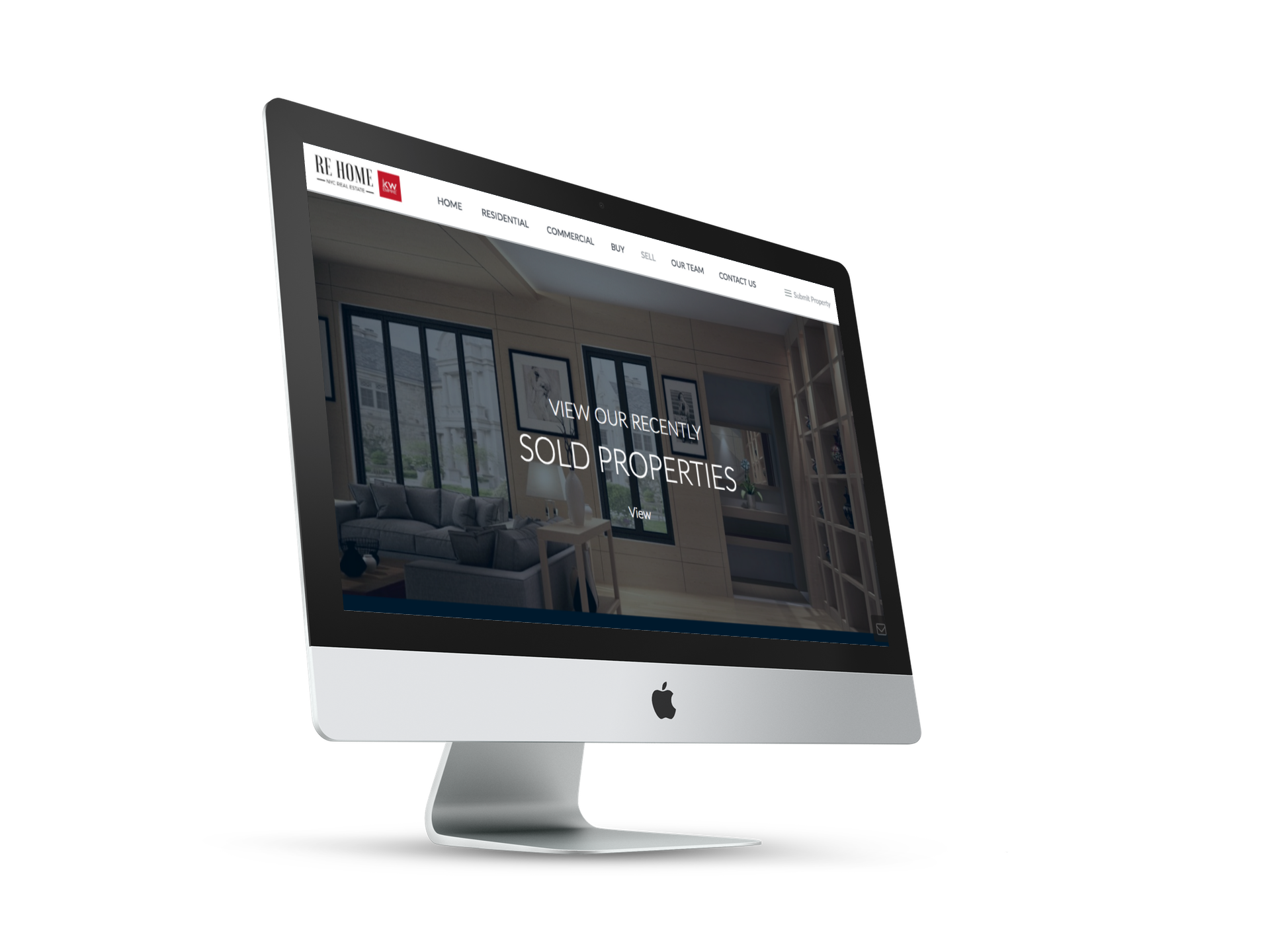 EYEBRANDIT PORTFOLIO WEB DESIGN - RE HOME NY 4
