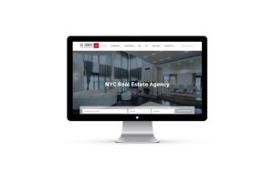 Web Design for RE Home NY Real Estate Brokerage by Inga Brel EYEBRANDIT